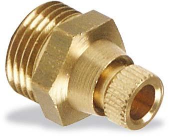 "ventilek 3/8"" na vypouštení kondenzátu z tlakové nádoby kompresoru"