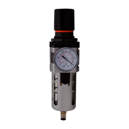 "redukční ventil s filtrem 1"" + manometr AFR10"