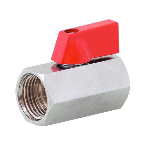 """kohout kulový Mini 3/8""""- závity vnitřní/vnitřní (=ART6MM-38, =BT1052-38)"""