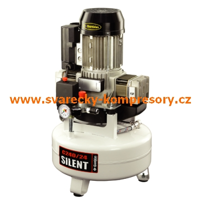 kompresor pístový bezolejový Gentilin Compact Air odhlučněný C240-24