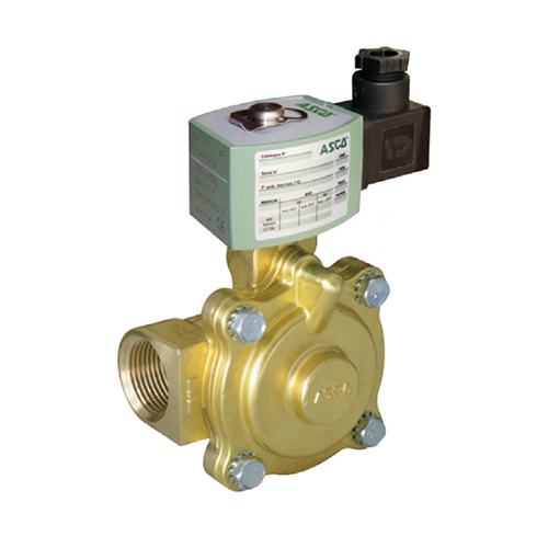 "ventil solenoidový E220, 2/2 NC, G3/8"", 24V DC - pro páru"