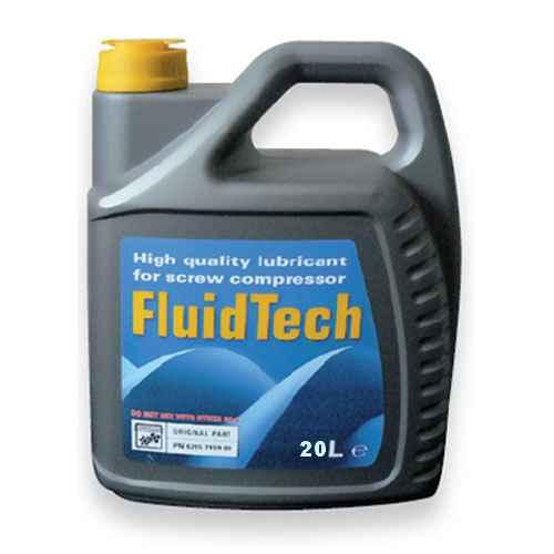 olej polosyntetický pro šroubové kompresory Fluidtech - 5 litrů FLU-20