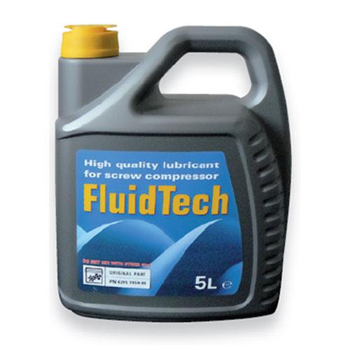 olej polosyntetický pro šroubové kompresory Fluidtech - 5 litrů FLU-5