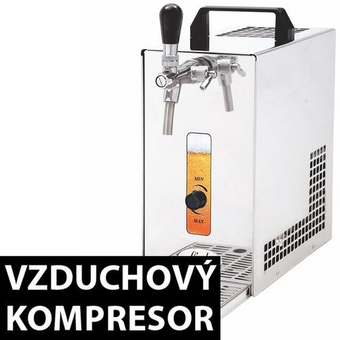 výčepní zařízení PYGMY 25/K s vestavěným kompresorem