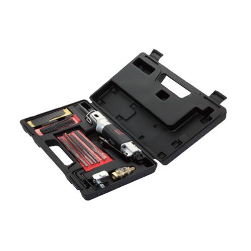 pilka/pilník přímočará pneumatická s přimazávačem, kloubem + 10plátků + 5 pilníků QD291N