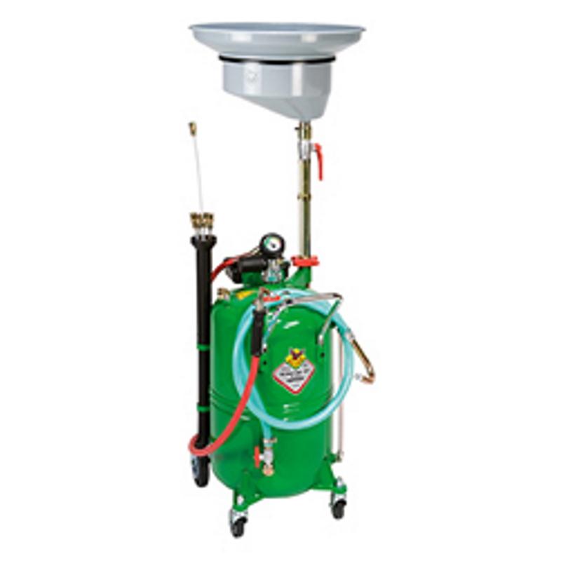 odsavačka olejů pneumatická a vypouštěčka RAASM 44060