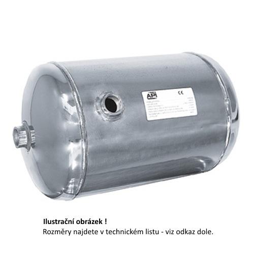 tlaková nádoba stojatá (vzdušník) objem 5 litrů NEREZ SBCX4-5